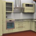Progettazione ambiente cucina.
