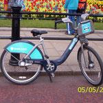Vélib londonien