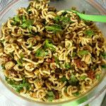 Nudelsalat mit Rucola & Pesto