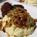 Kartoffelstampf mit Röstzwiebeln
