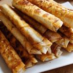 Zigarren-Böreks mit Kartoffel