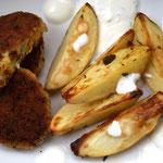 Kartoffelecken mit Vegi-Letten