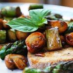 Sargel-Pilz-Gemüse