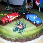 Cars-Torte