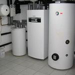 Wärmepumpe Sole/Wasser, Solare Warmwassererwärmung, Cottbus