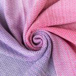 MADALO Nena Blanco herringbone - baby wrap - Handgewebte Babytragetücher