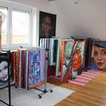Kunst Galerie und Kunstatelier Ulm, Memmingen, Illertissen, Laupheim, Biberach, Schwendi - Atelier u. Künstlerwerkstatt Burgstallers-Art