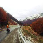 Der Paso Garibaldi, letzter Aufstieg vor Ushuaia.