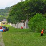 Ein Mann ohne Machete ist in Guatemala kein Mann. Ein Allzweckwerkzeug, mit dem man auch Gras mähen kann.