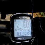 10'000 Velokilometer . . .
