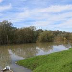 Grosse Überschwemmungen in einem der grössten Naturschutzgebiete Europas