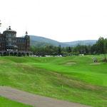 Japan ist dicht besiedelt, aber für grosse Golfplätze hat es immer Platz.