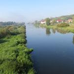 Die Oder bei Gorzow.