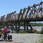 Brücke über den Totara River, nahe Ross.