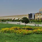 Der grosse Basar in Isfahan, heute leider geschlossen.