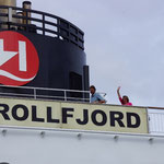 Mit der MS Trollfjord von Molde nach Bergen.