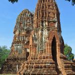 Einige der Tempelruinen sind fast 700 Jahre alt.