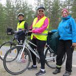 Zwei schwedische Ladys auf dem Weg nach Stockholm.