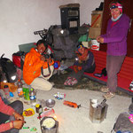 Kochen und Übernachten beim Arbol de Piedra.
