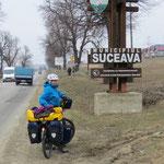 Von Suceava sind es nur noch 50 km bis an die Grenze zur Ukraine.