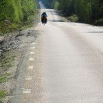 Die Einsamkeit des Radreisens.
