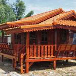 entstehen schmucke kleine Häuser zum Wohnen oder für den Garten.