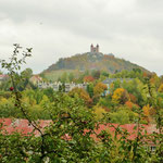 Der Scharffenberg in Banska Stiavnica.