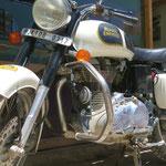 Die Royal Enfield ist der Motorradklassiker Indiens schlechthin.