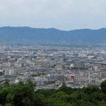 Hochhäuser fehlen in Kyoto fast gänzlich.