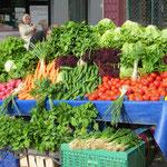 . . . und erst das Gemüse! Hmmmm. . .