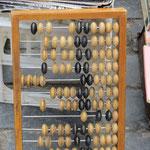 Den Abacus trifft man auf dem Land noch ab und zu in den kleinen Läden an.