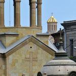 Die Kirche ist im Leben der Georgier allgegenwärtig.