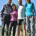 Mit unseren französischen Freunden auf dem Weg nach Kaschgar.