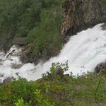 Wasserfälle gibt es noch und noch.