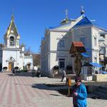 Neu renovierte ortodoxe Kirche.