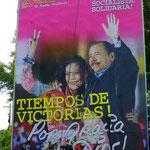 Die Wut der Menschen sitzt tief und richtet sich gegen Präsident Ortega und seine Frau und Stellvertreterin, Rosario Murillo.