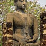 In den Tempelanlagen der alten Hauptstadt Sukothai.