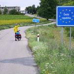 Grenze Österreich - Tschechien bei Valtice