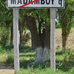 Oder Mangirl? Lustiger Ortsname in Usbekistan.