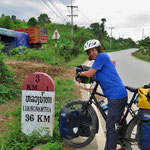 Luang Namtha, unser erstes Ziel. Zeit für Pausentage.