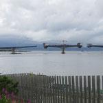 Brückenbau bei Ornes.