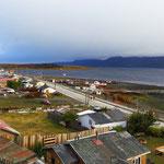 Puerto Williams auf der Insel Navarino, das südlichste Dorf der Welt (Chile).