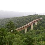 Der Daisetzsuzan-Nationalpark besteht fast nur aus Wald.