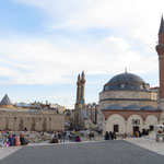 Das schön gestaltete Zentrum von Sivas.