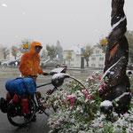 Schnee in Scuol-Tarasp