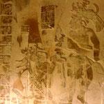 Manche Reliefs sind gut erhalten und wünderschön.
