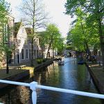 Unterwegs in Alkmaar.