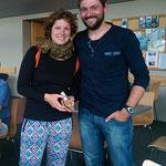 Claudia und Tobias aus Deutschland, die wir in Te Anau kennen lernen.