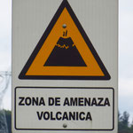 """Trotzdem die Vulkane """"schlafen"""", bleiben sie eine Bedrohung."""