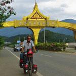 Kurz vor der Grenze nach Laos.